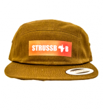 strussbob-brown-5-panel-cap