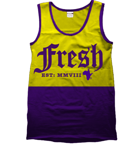 Strussbob Fresh yellow_purple vest