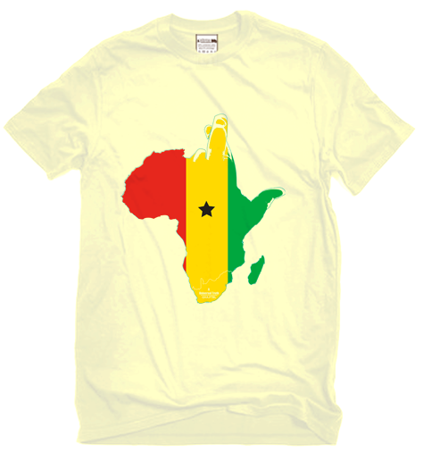 SB - FTBL 2010 COLLECTION: GHA T-SHIRT
