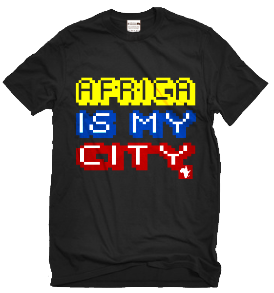 SB - AFRICA IS MY CITY T-SHIRT