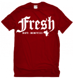 StrussBob Fresh red t-shirt