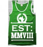 Strussbob Est MMVIII green vest